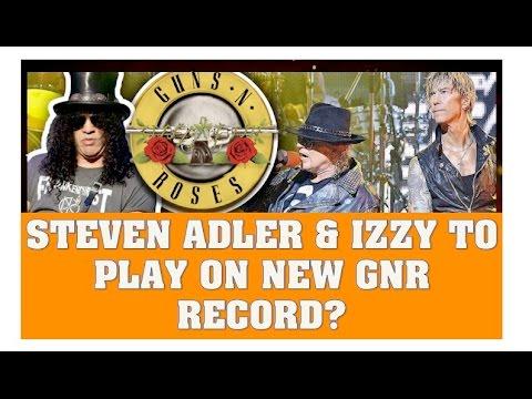 Guns N' Roses News: Steven Adler & Izzy Stradlin May Play on New GNR Record