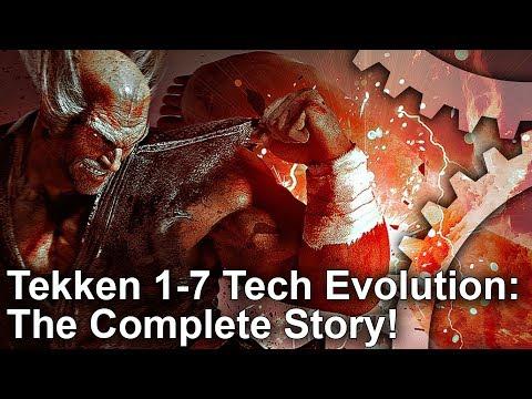 Tech Evolution: Tekken - 9 Games, 23 Years, 4 Console