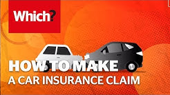How to make a car insurance claim - Which? top tips