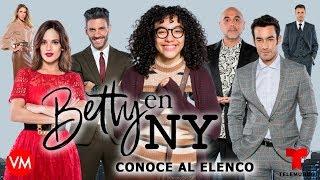 Betty en NY: ELENCO - PERSONAJES - PROTAGONISTAS. Conoce a los actores de la serie de TELEMUNDO