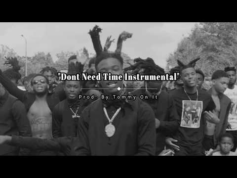 HOTBOII – Don't need time (Instrumental) [Best on YouTube] Re-Prod. by Tommy On It
