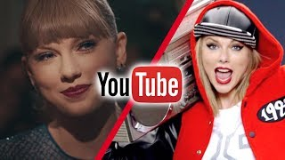 most viewed taylor swift videos