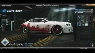 Need for speed world Most Wanted vinyl