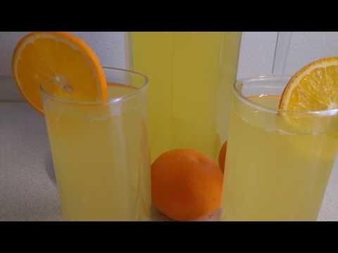 Лимонад!Из 2 апельсинов и 1 лимона получается божественный напиток!
