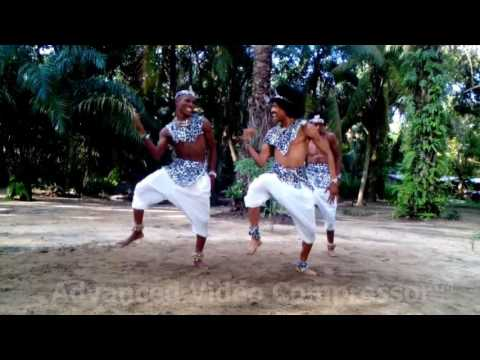 Hilary Jackson Dance Academy performing African Dances On Bracket Video shoot 2016
