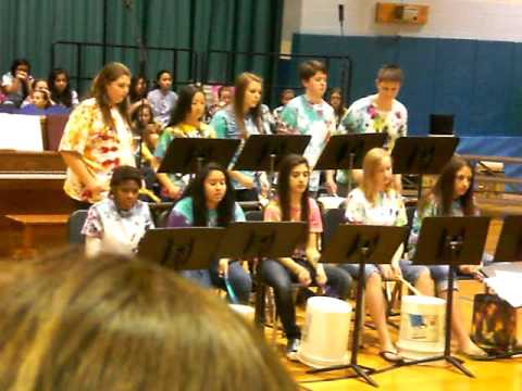 River Trails Middle School Bucket Band Concert 2012