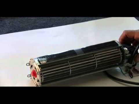FK12 Fireplace Blower Kit - YouTube