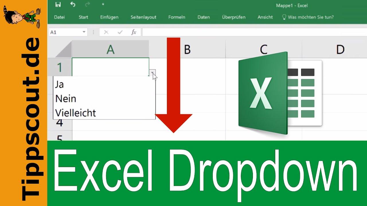 Excel Dropdown Erstellen  Schnell