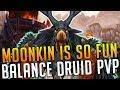 MOOMKIN IS SO FUN!!! Balance Druid PvP - BG Commentary [World of Warcraft: Legion 7.2.5]
