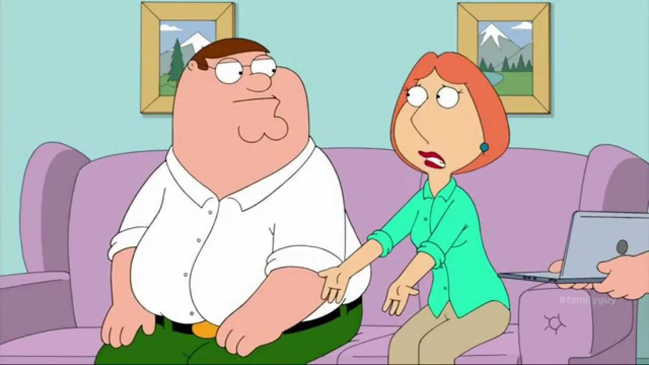 Family Guy - Peter Sees Animated Porn Clip Of Him And Lois - Youtube-3865
