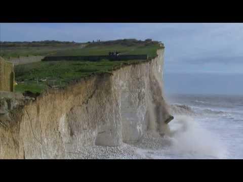 Cliff fall at Birling Gap 4/3/14