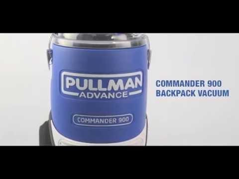 Pullman Commander 900 Backpack Vacuum Cleaner