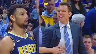 Luke Walton CURSES OUT Jamal Muarry After Losing in a Heated Exchange! Lakers vs Nuggets
