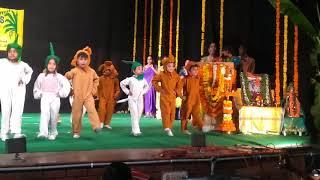 Gummy bear dance performance