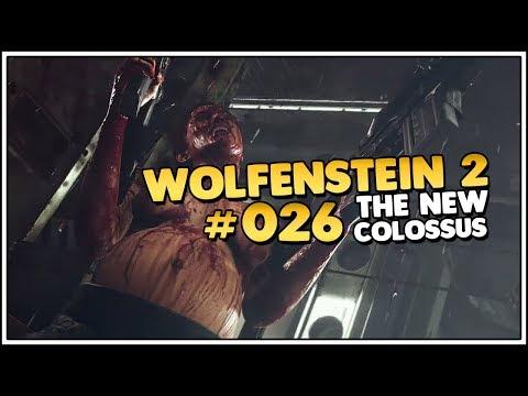 Wolfenstein 2 The New Colussus 👑 Das Luftschiff ist unser 026 PCDeutschLet's PlayGameplay