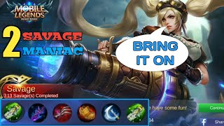 MARKSMAN GUIDE | BRING IT ON | 2 SAVAGE 2 MANIAC | MOBILE LEGENDS