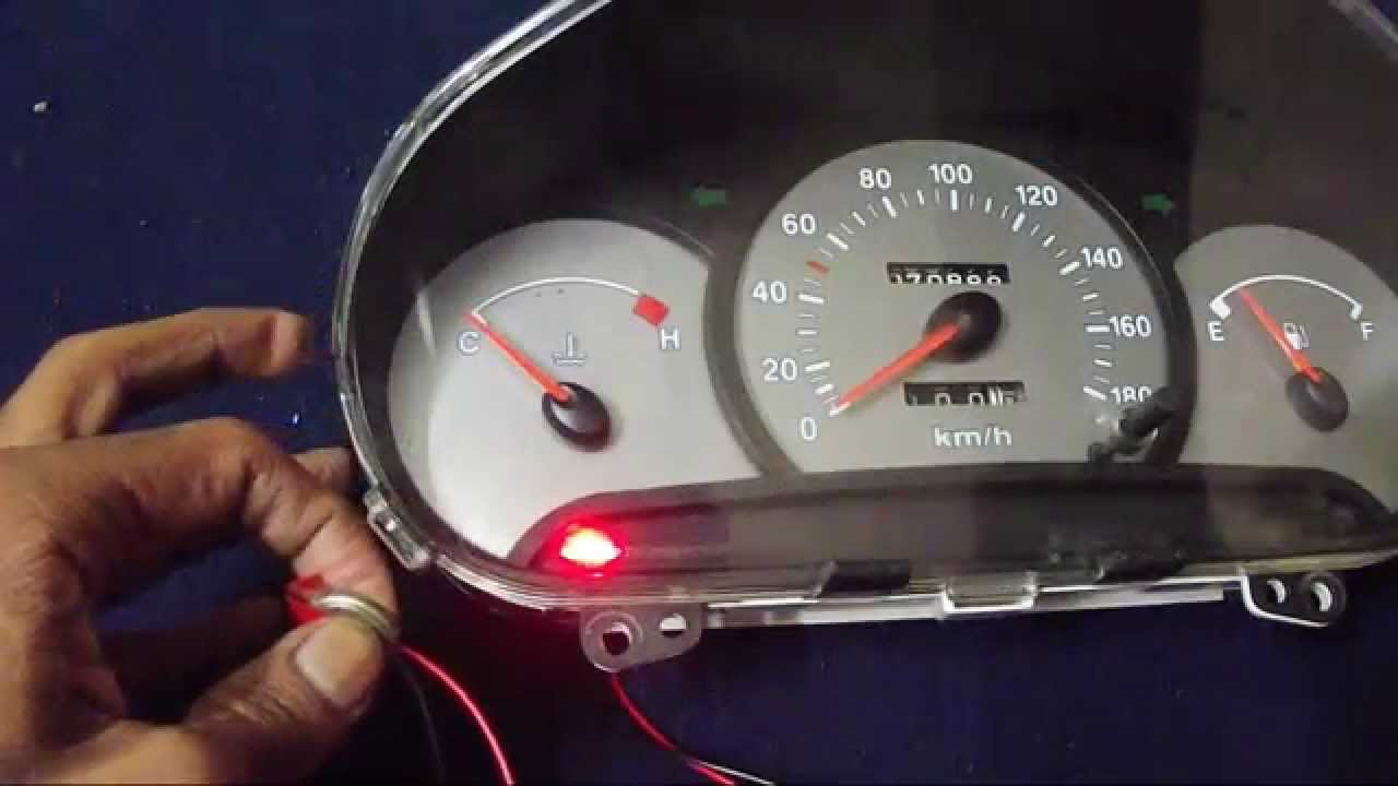 how to enable Door Open and Car Locked Light in Hyundai Santro India  YouTube