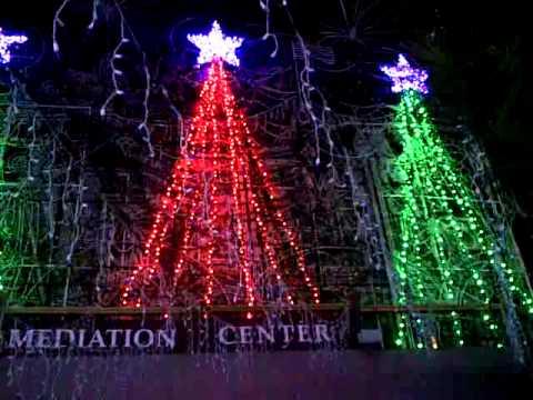 Mozart's Coffee Roasters - Christmas Light Show 2014 - Austin, Texas - Mozart's Coffee Roasters - Christmas Light Show 2014 - Austin, Texas