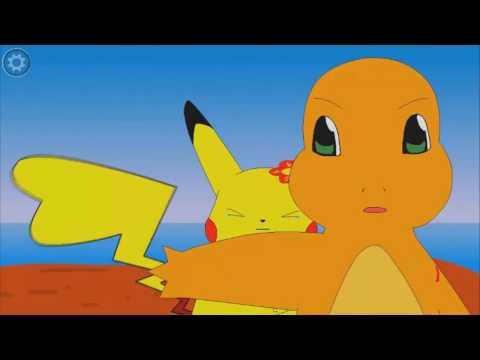 pikachu y charmander una historia de amor