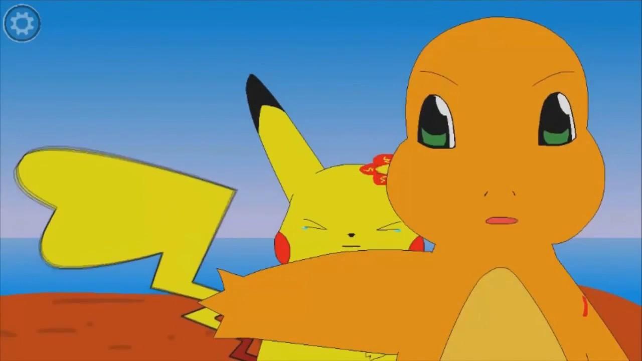 Pikachu Y Charmander Una Historia De Amor Youtube