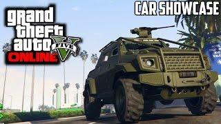 GTA 5 PS4 - HVY Insurgent Pick Up Armed $1,350,000 Car Showcase