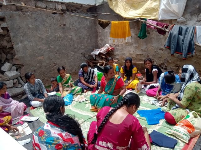 MAGIC Fund helps Akka Nagamma to conduct tailoring classes for girls who  discontinued their studies