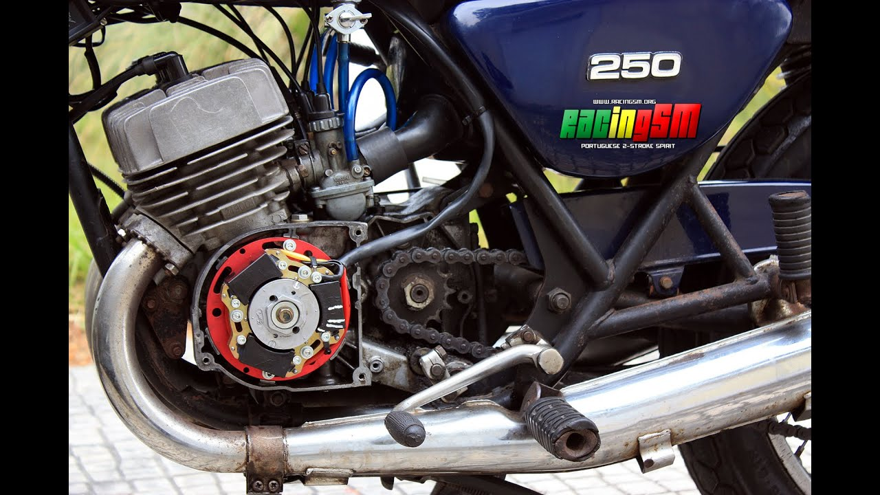 KAWASAKI S1/KH 250 - Inner Rotor first time alive