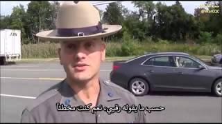 مواطن يلقن شرطي درسا في القانون!
