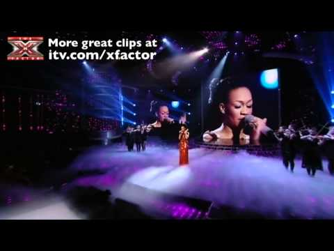 Rebecca Ferguson performs Distant Dreamer - The X Factor Live Final - itv.com/xfactor