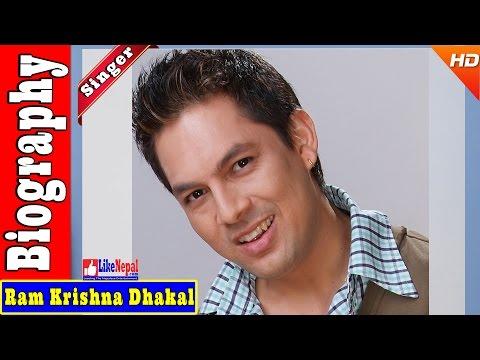 Ram Krishna Dhakal - Nepali Singer Biography Video, Songs