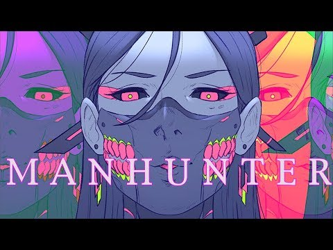 'M A N H U N T E R' | A Cyberpunk and Synthwave Mix