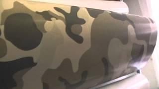 Плёнка зимний камуфляж автомобильная самоклеющаяся(Винил для оклейки кузова авто с рисунком