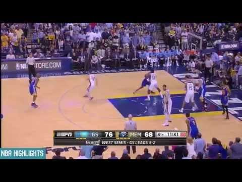 Golden State Warriors vs Memphis Grizzlies - Full Highlights | Game 6 | May 15, 2015 | NBA Playoffs