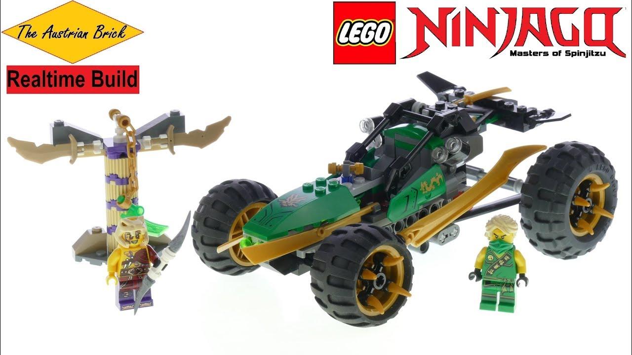 LEGO Realtime Build Lego Ninjago 70755 Jungle Raider - YouTube
