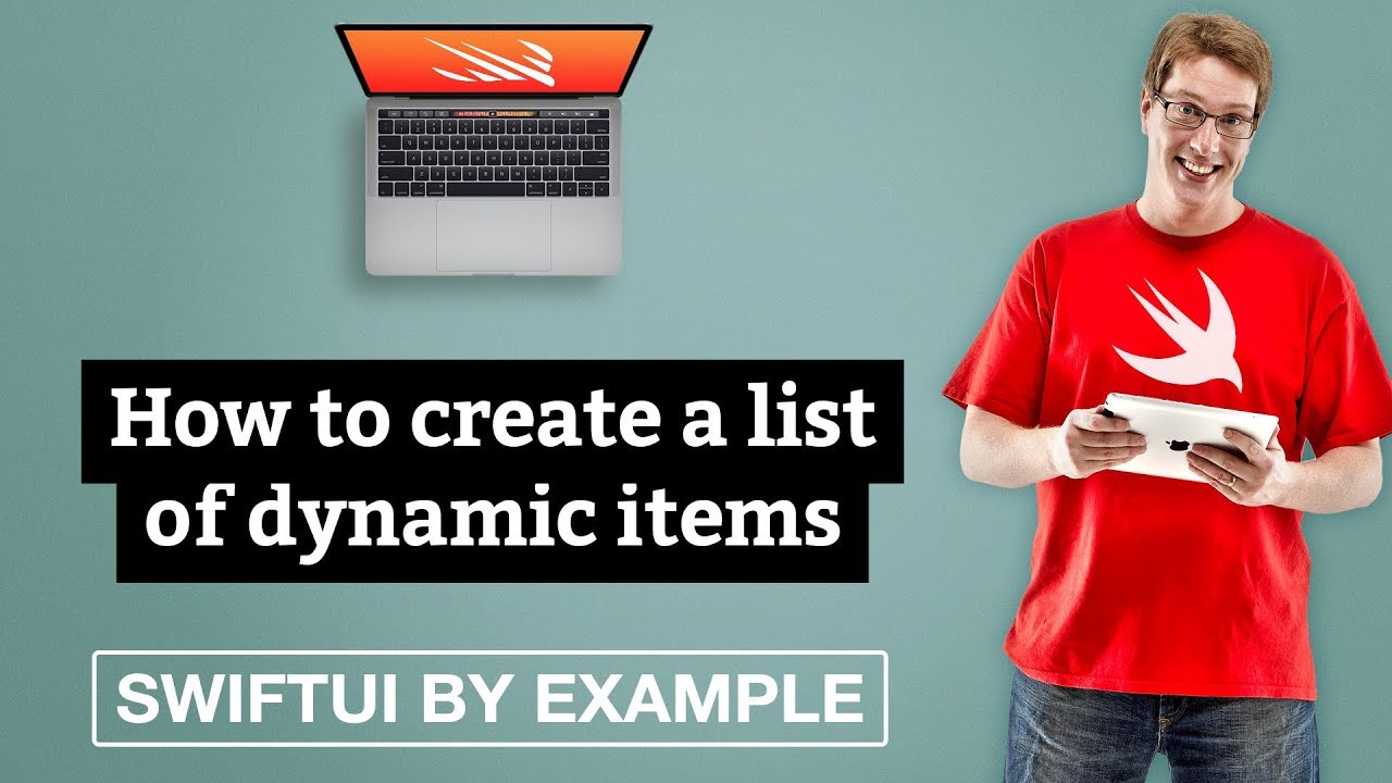 How to create a list of dynamic items - SwiftUI by Example
