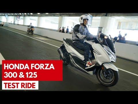 Honda Forza 300 e 125 2018 | Test ride del nuovo scooter 300 con doti da Gran Turismo