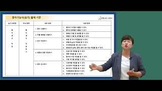 종자기능사 실기 필답형 강의 OT(김명희 선생님)