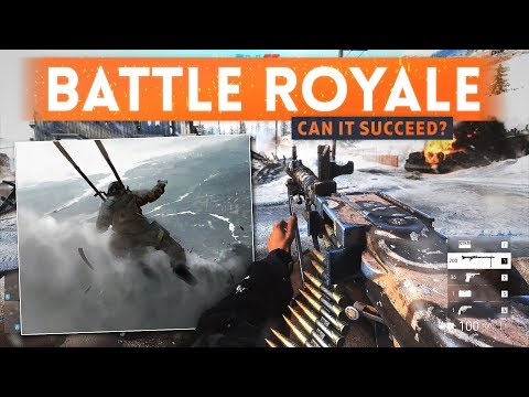 BATTLEFIELD 5 Battle Royale Mode Could Fend Off Fortnite, Says Analyst! (BF5 Multiplayer Gameplay)