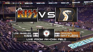 Arizona Rattlers vs LA Kiss