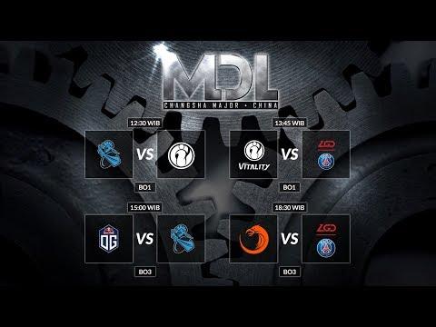 Newbee VS Invictus Gaming (BO1) - MDL Changsa 2018 Main Event day 2