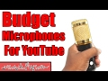 Professional Condenser Microphone Mic and Pro HD 160 LED Unboxing and Review