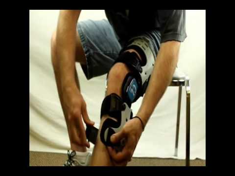 b30c0e8667 OA Knee Brace Instructions - YouTube