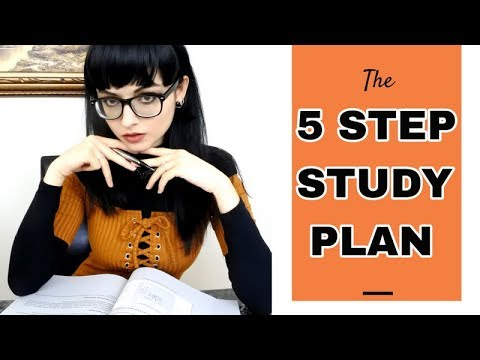 The 5 Step Study Plan   How to Study Effectively