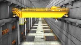 Rondônia - Construção da Usina Hidrelétrica de Santo Antônio em 3D