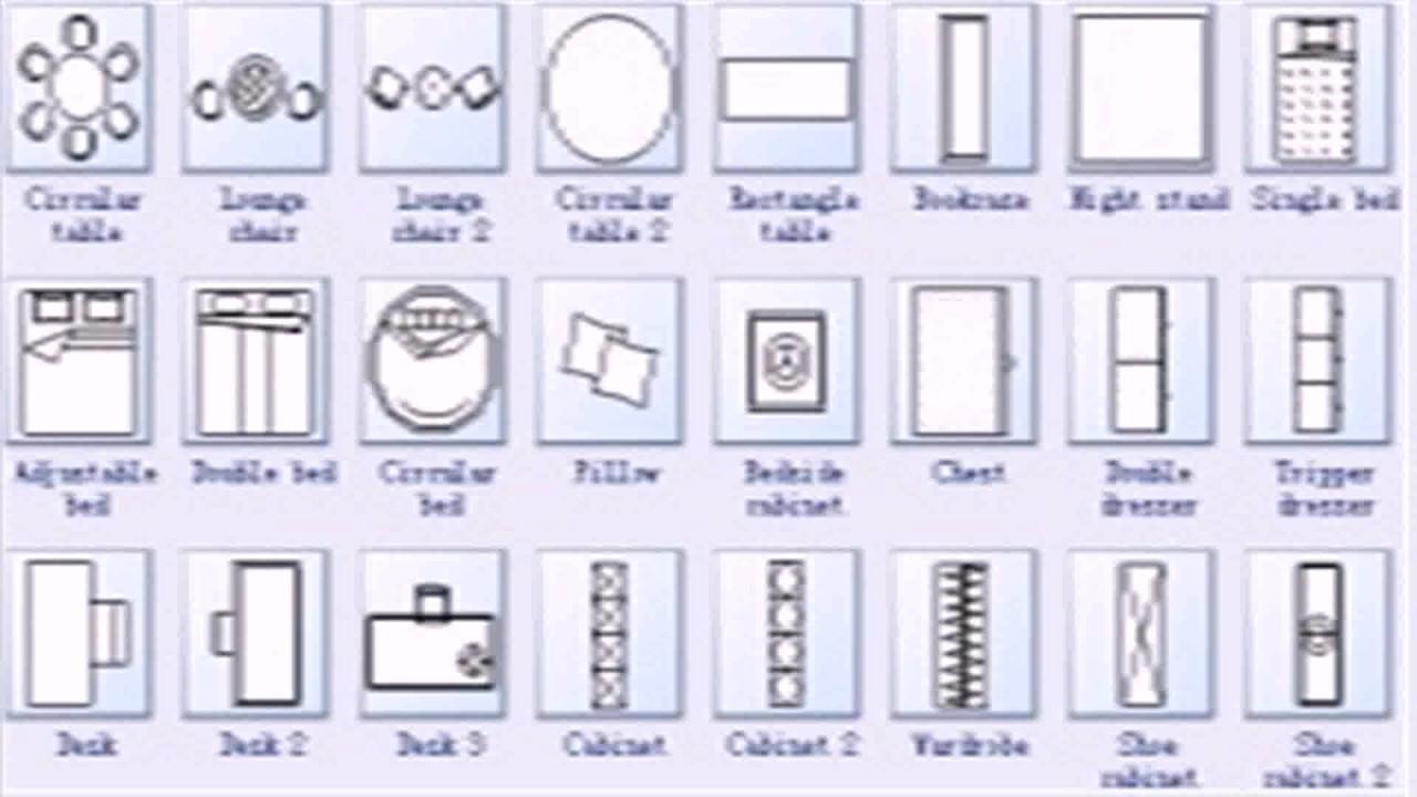 Floor Plan Blueprint Symbols Youtube