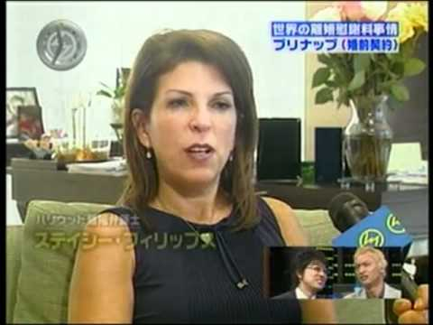 2007 Divorce in Japan - Expert Family Law Attorney Stacy D. Phillips on Asahi TV (translated)