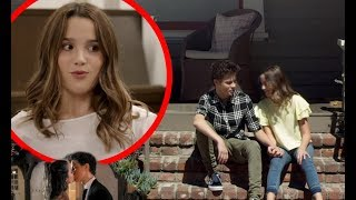 Annie LeBlanc REACTS To Kissing Scenes On Chicken Girls