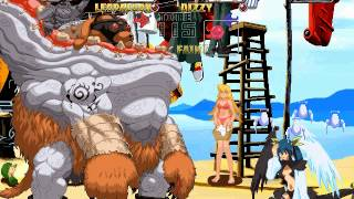 Guilty Gear Isuka [Arcade] - play as Leopaldon