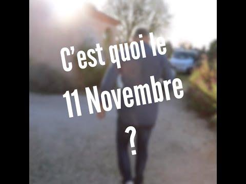 C'est quoi le 11 novembre ?