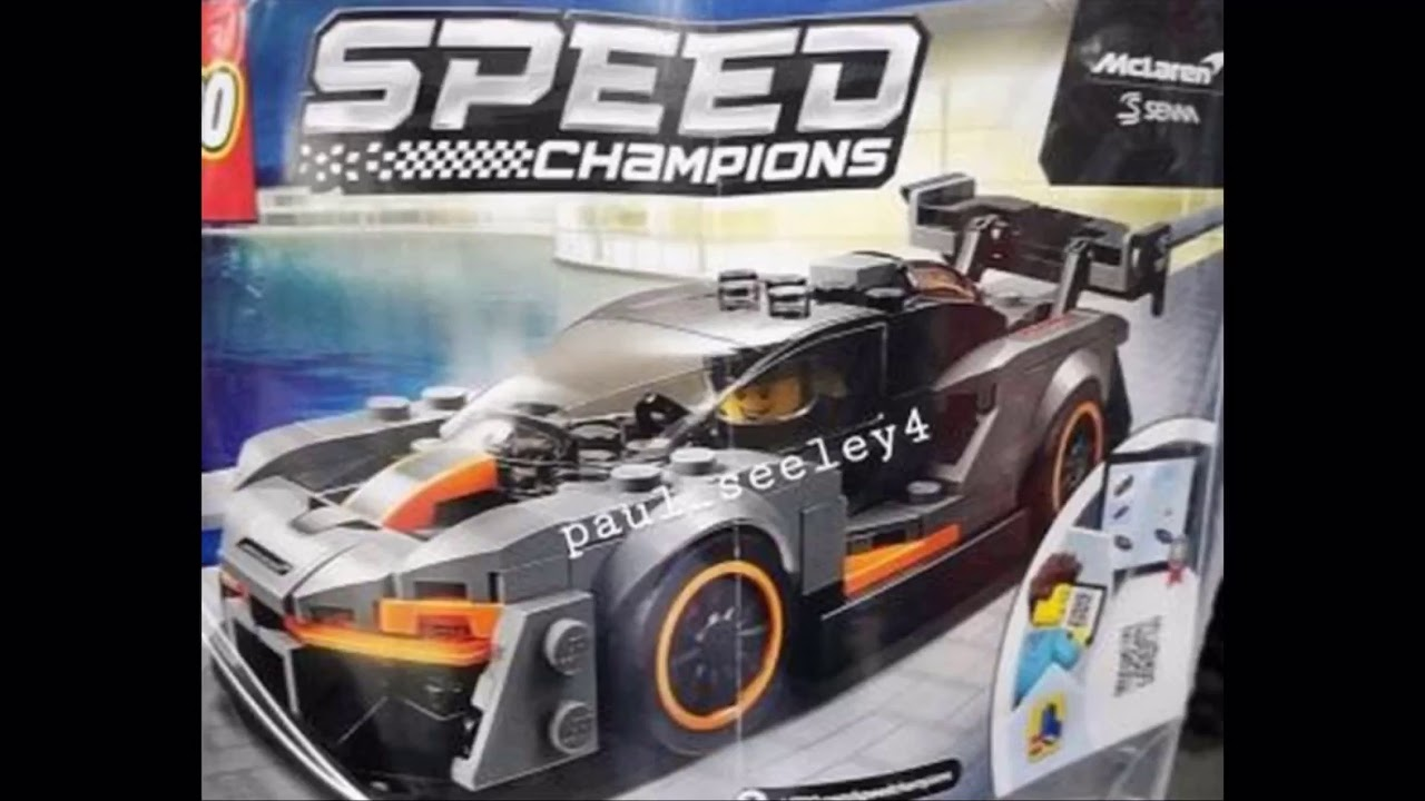lego speed champions 2019 set revealed youtube. Black Bedroom Furniture Sets. Home Design Ideas
